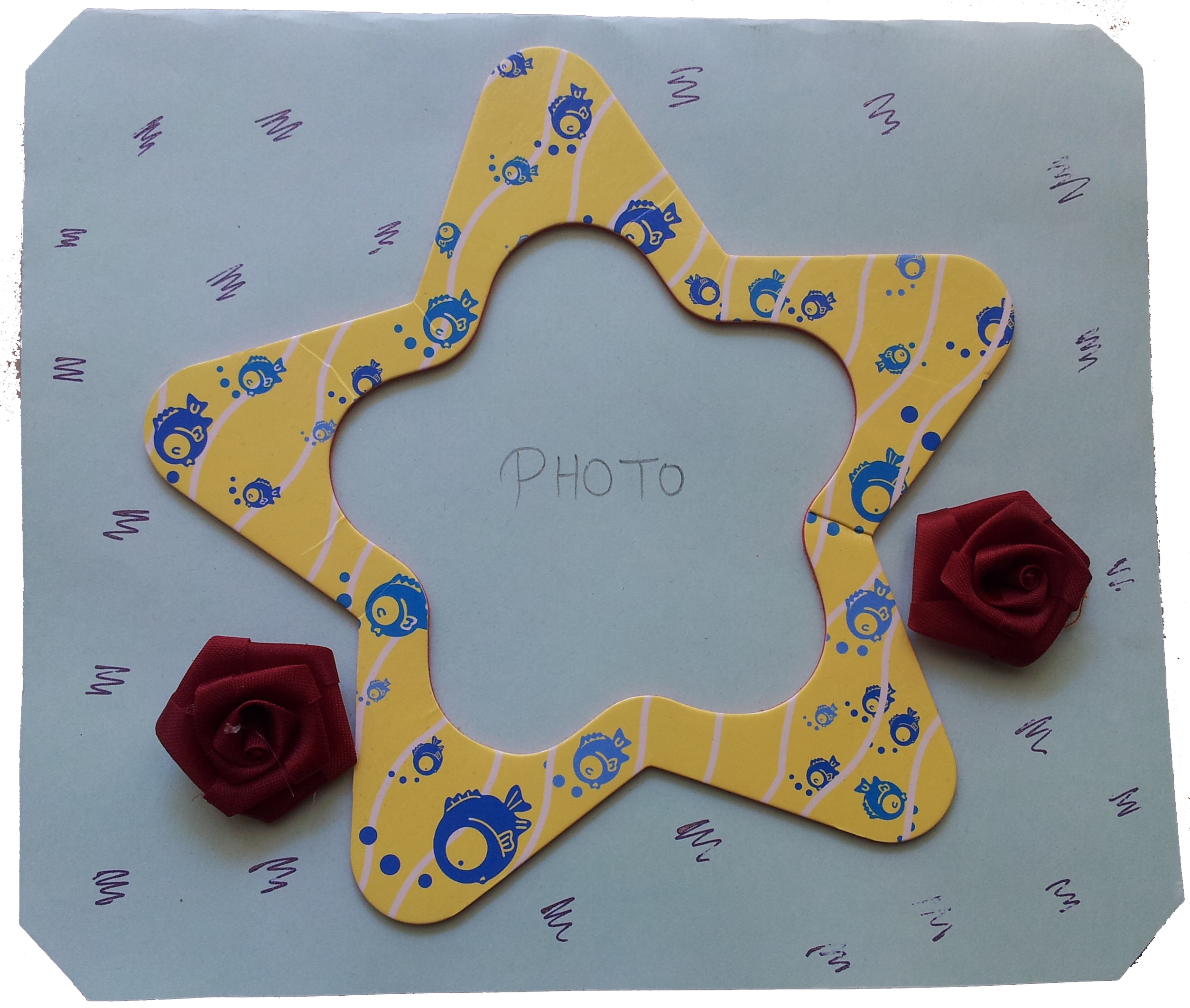Classy Star And Roses in Valentine Cards