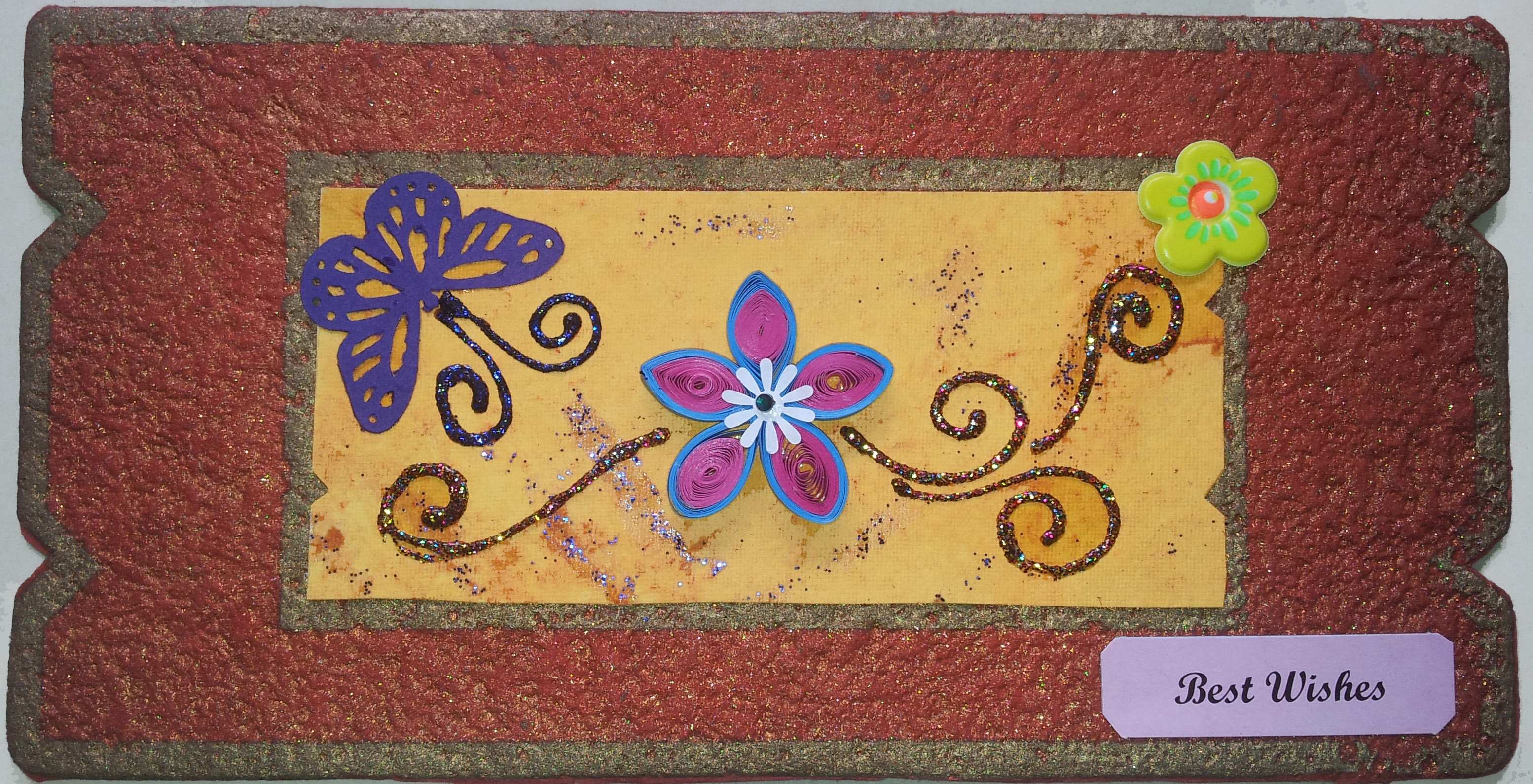 Ethnic Best Wishes Card in