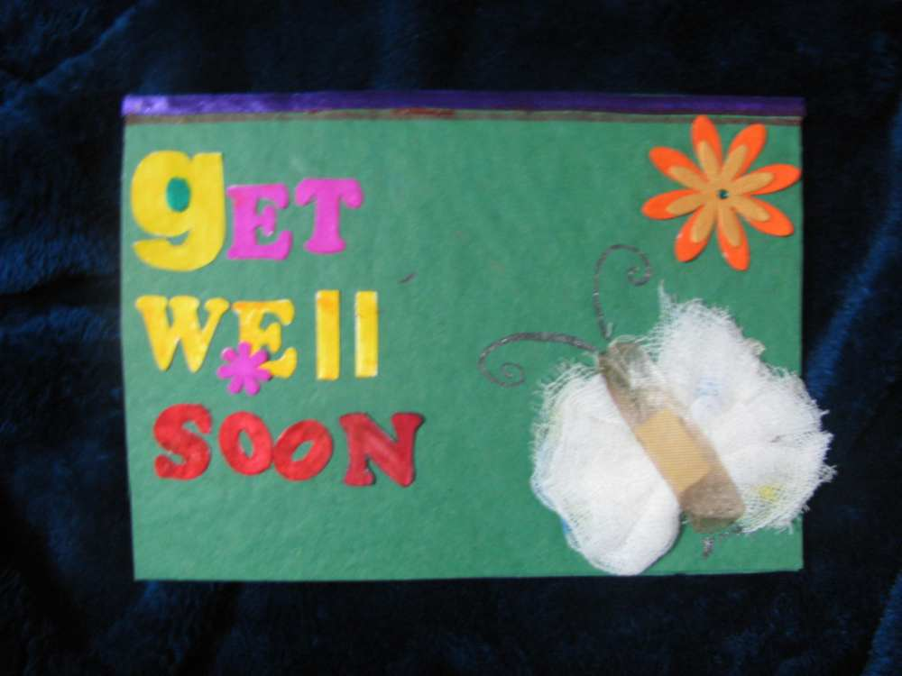 Get well soon Bandage card in Get Well Soon