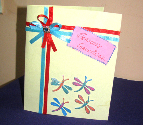 Butterfly with Ribbon Card
