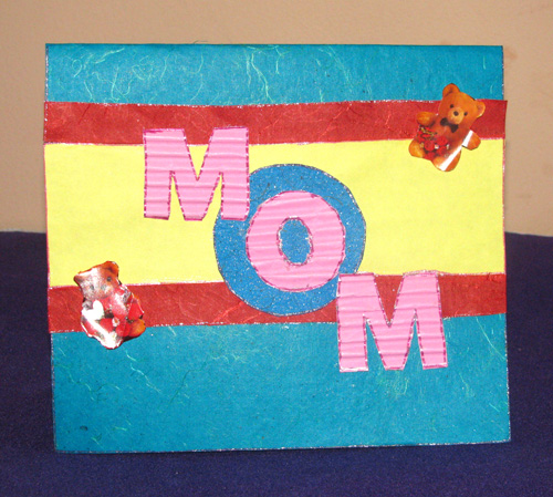 MOM Birthday Card in For Mother