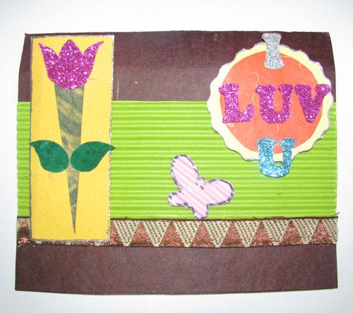 I L U card