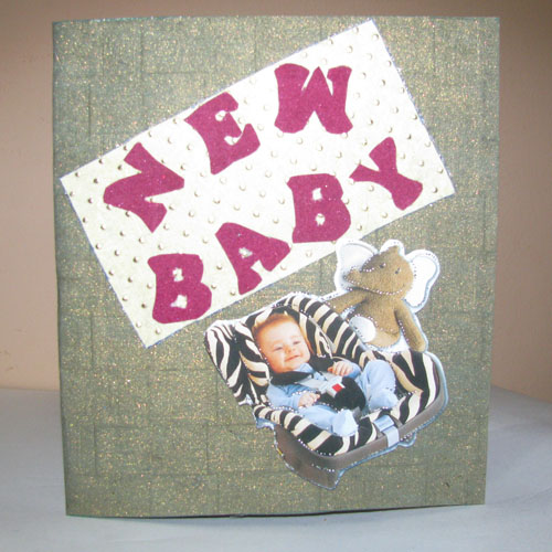 New Baby Card in For Kids