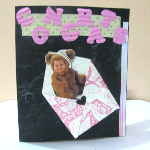 Congrats Envelope Card in For Kids