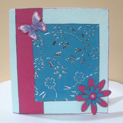 Butterfly Card in For Kids
