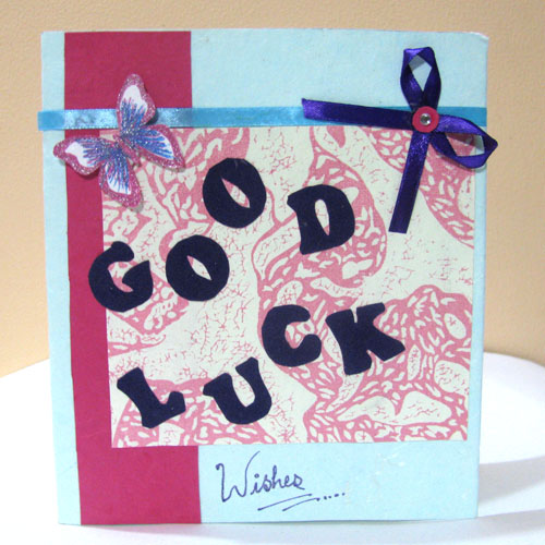 Good Luck Letter Card in New Job