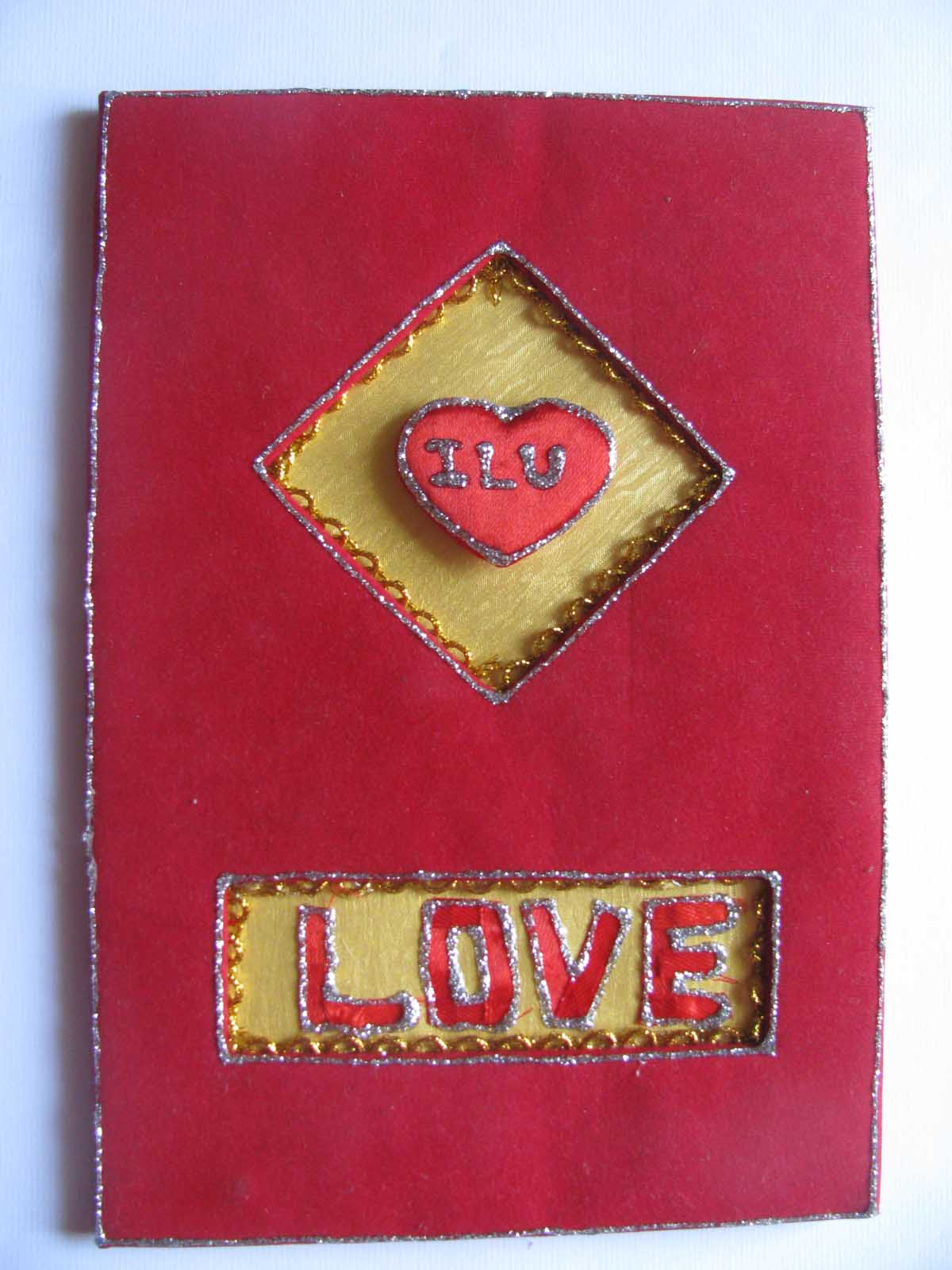 Love Heart Card in Valentine Cards