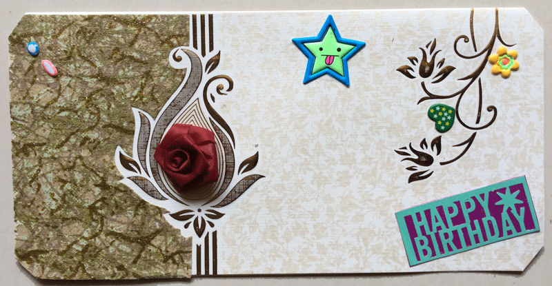Buy Handmade B Day Card Shipmycard Com