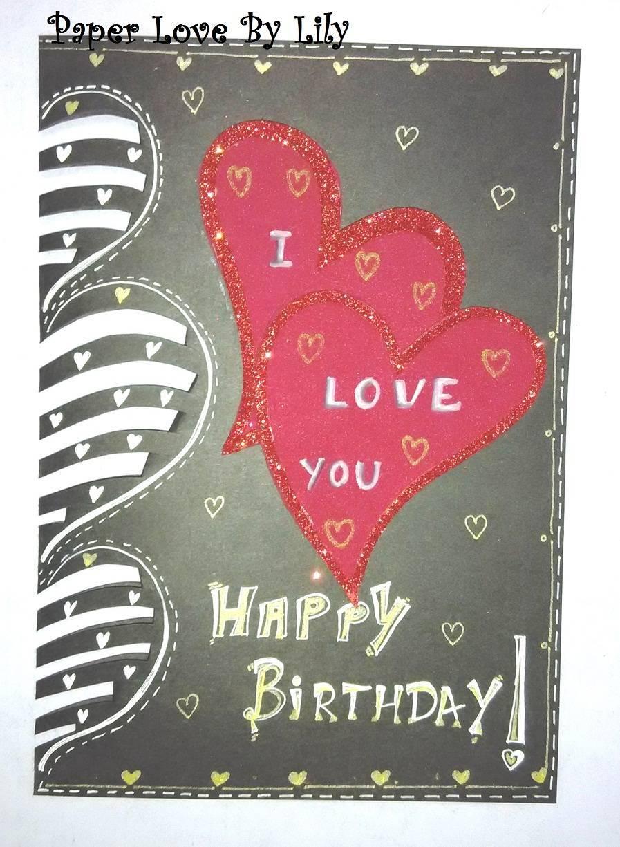 Buy I love you Happy Birthday card - ShipMyCard.Com