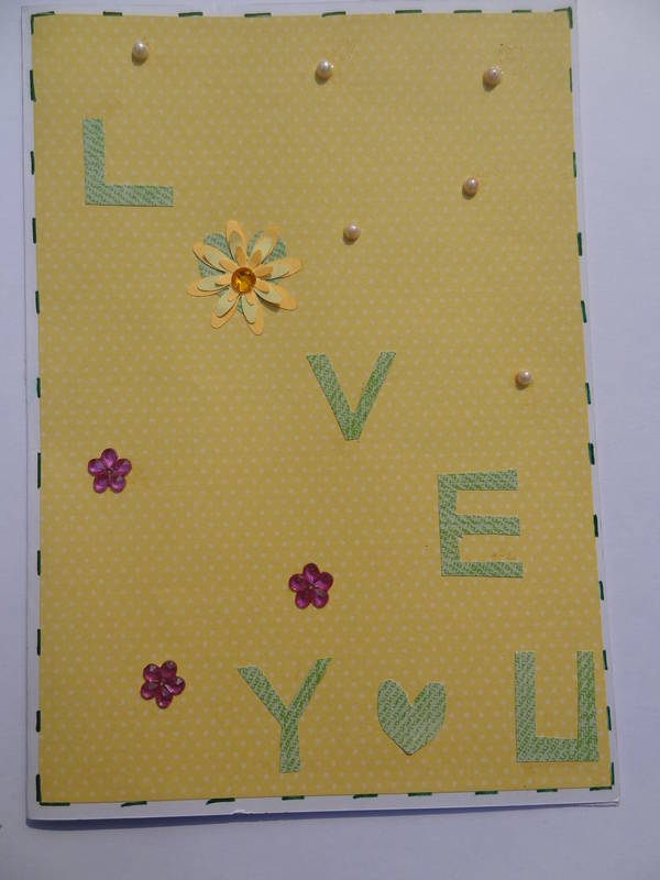 Buy_Simple I Love You Card
